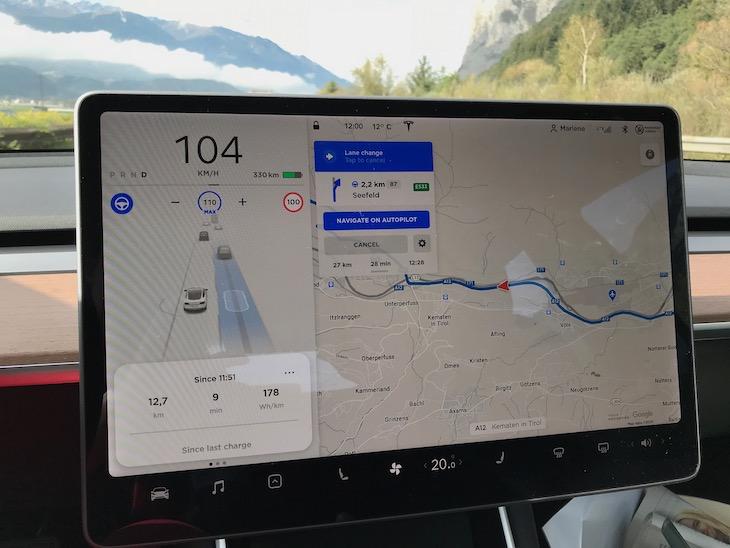 Tesla 3 - Autopilot Betaversion